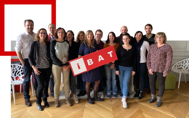 Photo de groupe de l'équipe d'Ibat