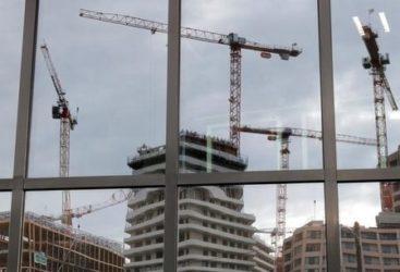 grues et immeubles