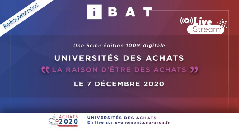 Atelier IBAT-CNA-Université des Achats